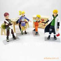 Good PVC Anime 3th Generation Naruto Model Toy Action Figure 4pcs/set For Decoration Collection Gift
