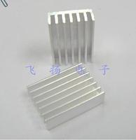 50pcs/lot.High-quality aluminum radiator heat sink fins notebook 14 * 14 * 6MM.Free shipping.