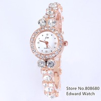 New 2013 fashion whatch women dress watches women rhinestone watches bracelet relogio feminino Luxury crystal diamond wach reloj