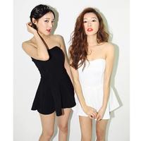 party dress/Back zipper sexy tube top dress/basic one-piece/ short dress /banquet women spring and summer dress