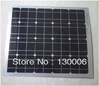50 w monocrystalline silicon half flexible solar panel/cars off-road saloon car circuit pad 12 v system