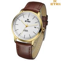 EYKI Brand Automatic Self-Wind Watch for Men/Men's Genuine Leather Strap Skeleton Watches Fashion Hours New 2013 EFLS8711M