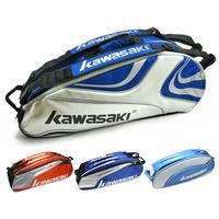 Badminton bag KAWASAKI badminton bag 6 backpack bags