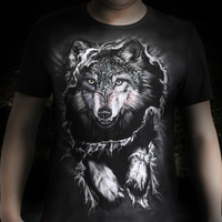 2013 men's clothing Hole 3dt male short-sleeve T-shirt fashion trend of the male personality short-sleeve summer t-shirt