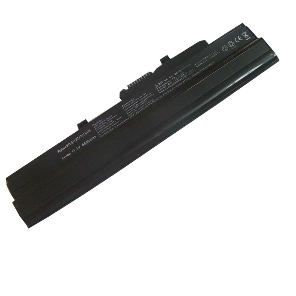 Laptop Battery Advent 4211 4211b 4211c 4489 BTY-S11 BTY-S12 MSI Wind U100 U135(China (Mainland))