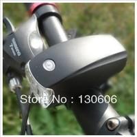 Free shipping1Pcs/lot  5w  9.0cm high power bicycle headlight black