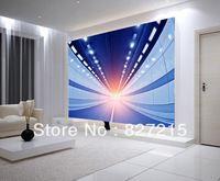 3D-0521/New Fashion Wall Decoration Material/PVC Material /Stretch Film/Beautiful Night Scene/Function as Wall Paper/Sustainable