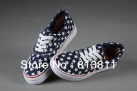 2013 Free Shipping Canvas Shoes For Women Men Leisure Unisex Womens Mens Sports wear Sneakers Shoes Size 35--43