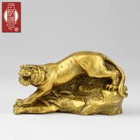 piece reside decoration Patchwork pure copper decoration zodiac tiger copper tiger t415