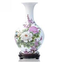 Modern ceramic vase home decoration fashion decoration crafts brief accessories vase