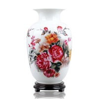 Fashion modern brief fashion ceramic vase flower crafts furnishings decoration