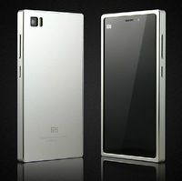 Full Metal Case For Xiaomi Mi3 M3 , Aluminum Case , 1 pcs on sale with Protective Film as Gift
