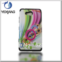 Latest 2 in 1 Cover Case For Nokia N820 Flower Plastic with Silicon Phone Cover