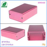 Aluminum electronic enclosures aluminum profile electrical enclosure box 60*44*23mm 2.36*1.73*0.91inch