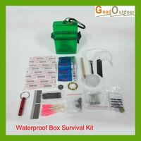 Free Shipping KT01-5A Waterproof Box Survival Kit Wholesale/Retail
