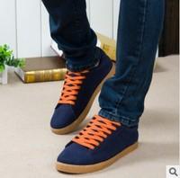 free shipping fashion men sneaker shoes Korean men's scrubs men shoes low shoes,China size(39-44)