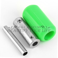 5pcs Green Silicone Soft Rubber Tattoo Machine Handle Gun Grip Tube Back Stem New Hot Selling