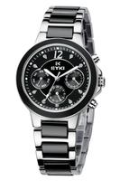 EYKI Brand Women Dress Watches/ Ladies Ceramic Quartz Watch/ Womens Female Casual Hours New 2013 Wristwatches EMOS8566L