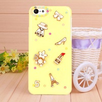 2014 phone shell women's Accessories case for iPhone 5c fashion Mobile phone bag Border Protection free shipping