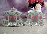 Cinderella Wedding Carriage Favour Boxes Bomboniere Wedding Favor