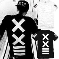 On sale New Summer 2014 Men Women xxlll hiphop japan streetwear shirts pyrex 23 shote hba short-sleeve T-shirt famous star tees