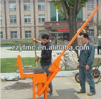 JZ-40 manual brick making machinery for interlocking brick