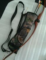 Free Shipping  shoulder Aslant Arrow Quiver Bundled Processing Archery Supplies Bow Bag /Pouch