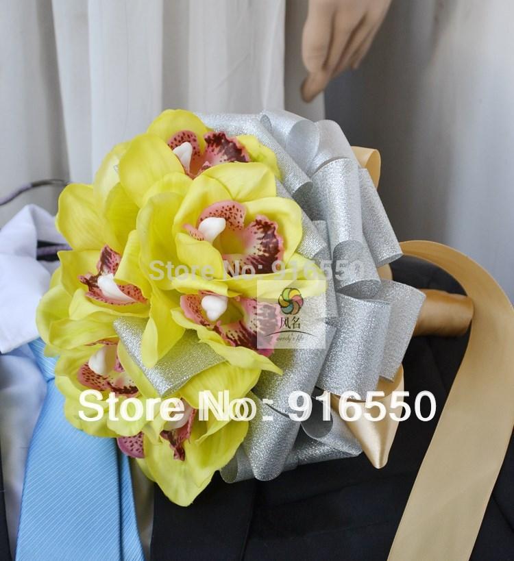 Cymbidium Orchids Bouquet Orchid Wedding Bouquet