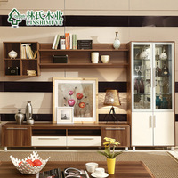 Fashion chinese style modern tv cabinet 2 diaogui wine glass combination 4 qn01