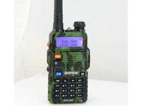 BaoFeng Radio Interphone UV-5R Green 136-174/400-480MHz Dual-Band DTMF CTCSS FM ham 2 way radio