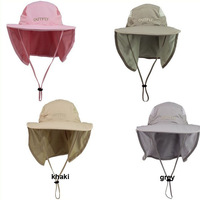 GG028 Fashion Brand New Arrival Camouflage Caps Quick-drying  Sunbonnet Anti-UV  Outdoor Sun Hats