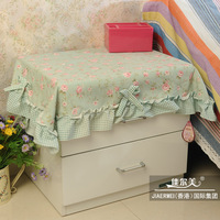 Bedside cabinet cover ofhead set gremial multi-purpose scarf small table cloth
