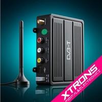 DVB-T Digital TV Receiver Box for Car mpeg-2 Car external TV Tunner digital TV receiver box receiption