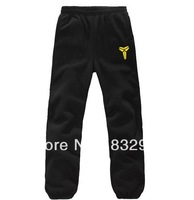 2013 new Korean version of casual men's thick fleece pants free shipping