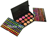 183 Color Warm Shimmer Matte 168 Eyeshadow  + 15 Blush Contour New Makeup Palette CM176