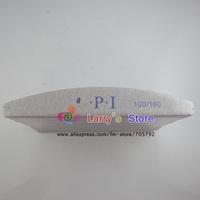 Nail Buffer Files tool 10PCS/Lot 100/180 sandpaper Slim gray emery board Grey Sandpaper Nails Care Tools