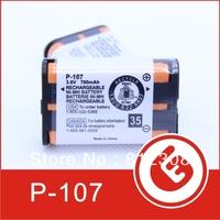 700mAh 3.6 V Rechargeable for Panasonic  Cordless Phone Batteries NI-CD HHR-P107 P107 Wholesale  200 pcs