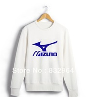 Couple 2013 new Korean version of casual round neck long-sleeved T-shirt sports free shipping
