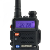 2014 BaoFeng UV-5R 136-174/400-480 MHz Dual-Band DTMF CTCSS DCS FM Ham Two Way Radio Free shipping