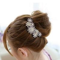 Sunflower hairpin headdress explosion models T7422