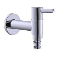Free shipping Bathroom faucet copper single cold water washing machine bibcock mop pool