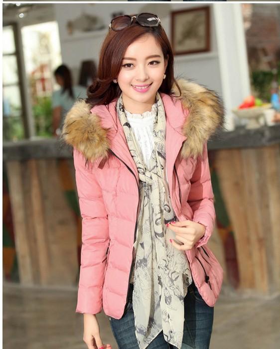 The fair maiden lane eiderdown cotton short coat(China (Mainland))