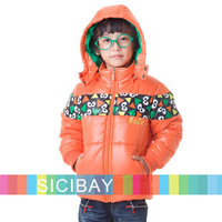 Fashion Boys Down Coats Children Winter Hooded Long Sleeve Thick Outerwear,Free Shipping K4314
