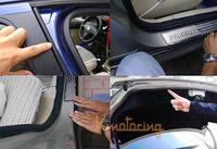 4m/ piece D style Car Seal Strip Universal Auto Trim Rubber Sealing Airtight Door strip free shipping