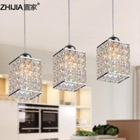 Free shipping Fashion modern crystal lamp pendant lamps restaurant lamp bar balcony lamps