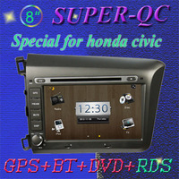 Car GPS, Car radio car audio Car DVD for HONDA CIVIC 2012 support rear view camera reverse camera