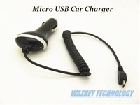 Wholesale high quality Rapid Fast Micro USB Battery Travel Auto DC Car Charger For samsung for Cell Phone*1500pcs/lot