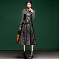 2013 fashion patchwork woolen slim thickening cotton-padded jacket outerwear top s368