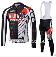 factory store! New pro bike Team cycling Jersey BIB long sleeve Winter Thermal Fleece quick-dry bicycle clothing set for man