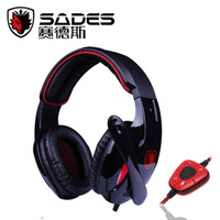Free Shipping Brand New Gaming Headphones Sa 902 headset computer earphones Professional 7.1 audio game earphones fone de ouvido